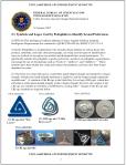 FBI je ovaj dokument objavio 31. siječnja 2007. godine. Na ovoj slici možete vidjeti da trokut s pravcem zavijenim unutra označava znaka za pedofile koji vole dječake.