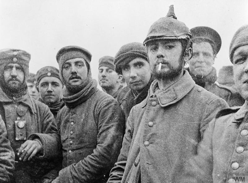 Fotografioja vojnika u ničijoj zemlji na Božić 1914.