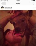 Alefantisova objava na Instagramu.