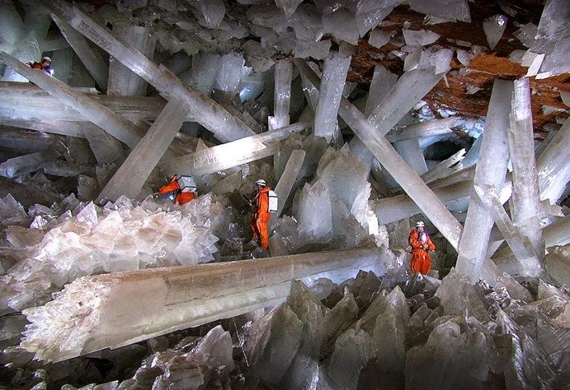 Ogromni kristali u špilji Naica ostavljaju bez daha.