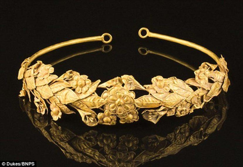 Kruna od čistog zlata stara preko 2500 godina.