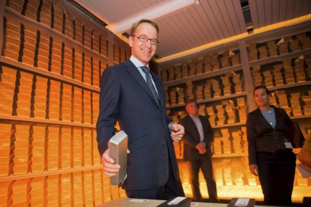 Njemačke vlasti su 2013. su donijele odluku o vraćanju državnih zlatnih rezervi u domovinu. Na slici vidite nove trezore za čuvanje zlata u Frankfurtu.