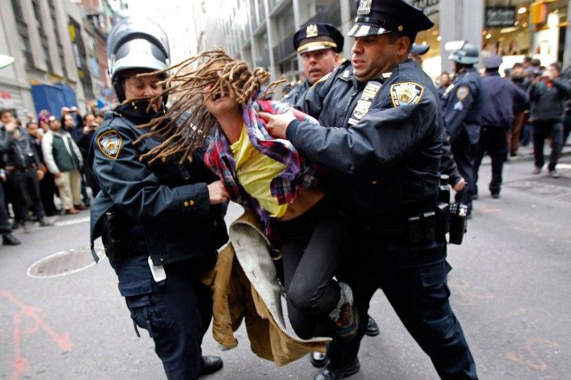 Sasvim normalno uhićenje u Sjedinjenim Državama.