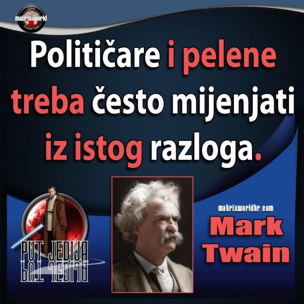 Jedan od najhumornijih, a ipak tako poučnih citata Marka Twaina.