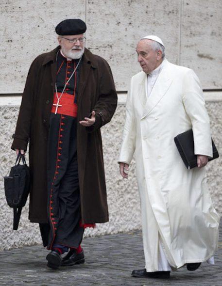 Papin glavni savjetnik o slučajevima svećeničke pedofilije je biskup Sean Patrick O'Malle iz Bostona.