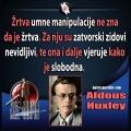 aldous Huxley žrtva umne manipulacija