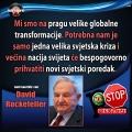 David Rockefeller Novi svjetzsaki poredak