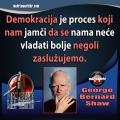 George Bernard Shaw demokracija