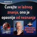 George Bernard Shaw Lažno znanje