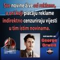 George Orwell reklame i cenzuriranje vijesti