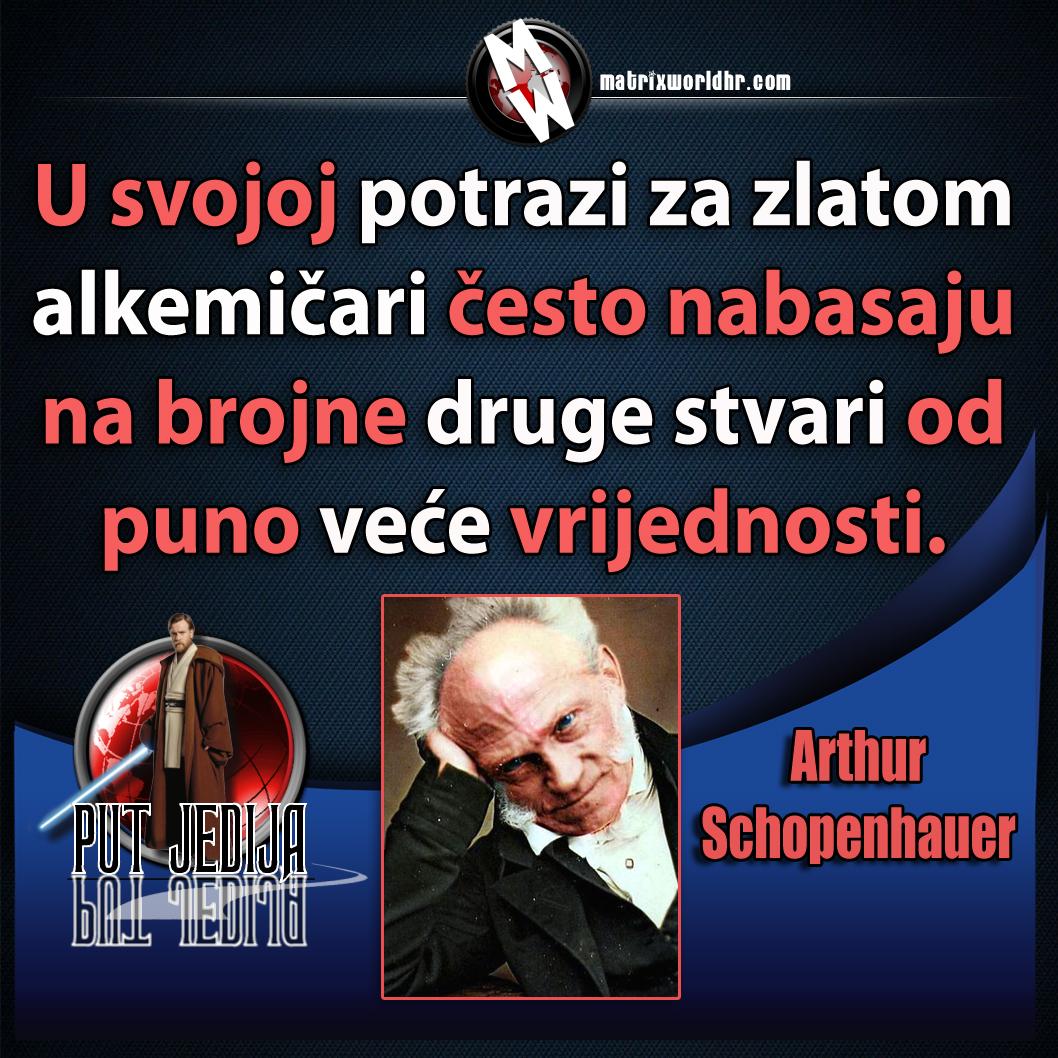 Arthur Schopenhauer veća vrijednost od zlata – Matrix World