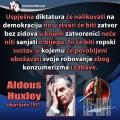 Aldous Huxley diktatura nalik demokraciji