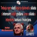 John McDonnell vlasti koji će djelovati u skladu s interesima naroda
