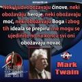 Mark Twain svi obožavaju novac