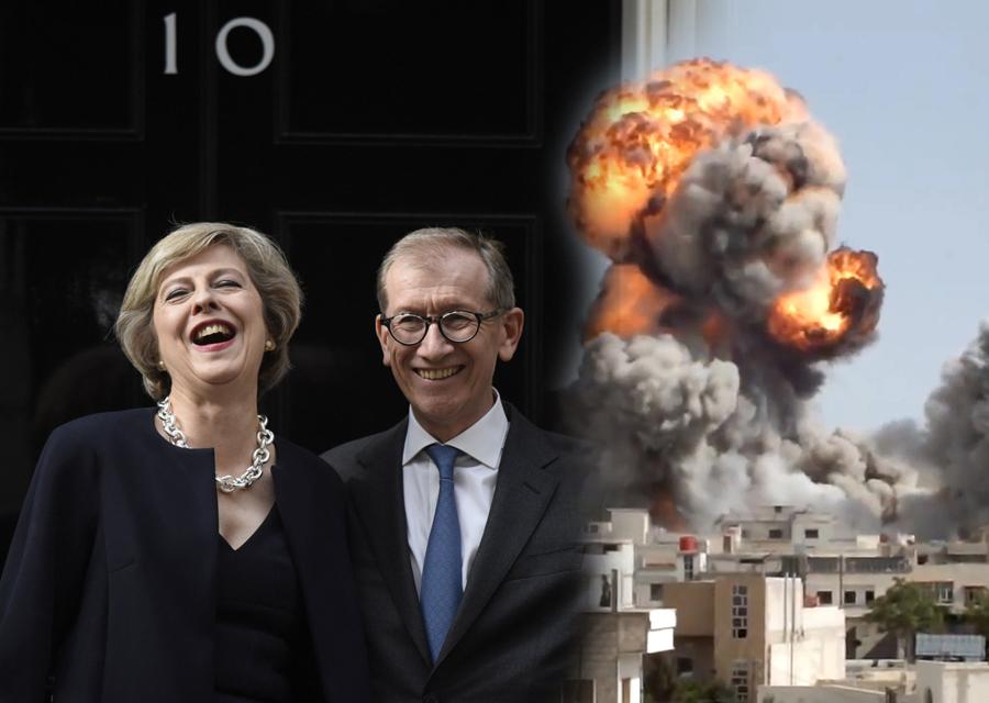 Kako britanska premijerka zarađuje na raketiranju Sirije?