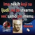 Ciceron ljudi samo po imenu
