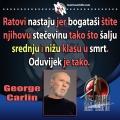 George Carlin kako nastaju ratovi