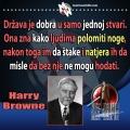Harry Browne država ljudima lomi noge