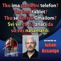 Julian Assange žrtve špijunaže