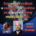 Julian Assange ratovi medijske laži