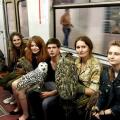 ljubitelji sova u metrou