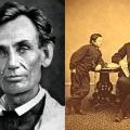 Abraham Lincoln prije i nakon puštanja brade