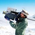 Afganistantski teroristi talibani pucaju na sovjetske helikoptere s američkim FIM-92 Stingerima