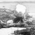Američki napad na Wonsan 1952. pogođeno skladište municije