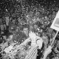 Amerikanci se raduju nakon John F. Kennedyjeve pobjede na izborima
