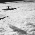 boeing B-17F, bombardiranje Bremena kroz oblake