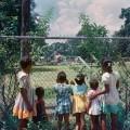 crnačka djeca gledaju zabavni park u mobile alabami 1952 jer tamo smiju samo bijelci