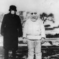 doktor u zaštitnom odjelu tijekom kuge u Mađurtiji 1912