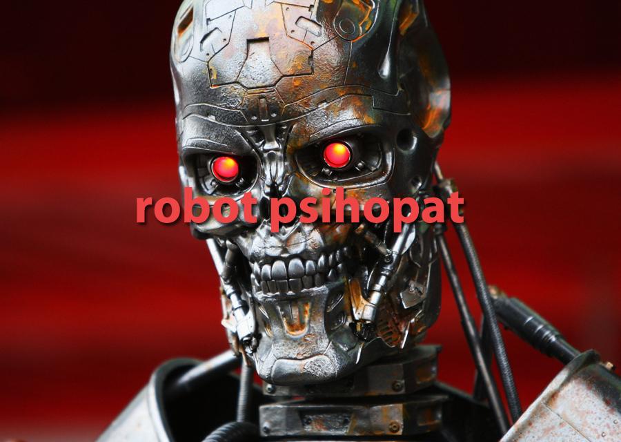 Stvoren prvi psihopatski robot