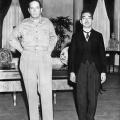 General MacArthur u susretus japanskim carem hirohitom 1945