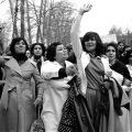 iranke protestiraju protiv nošenja hidžaba 1979