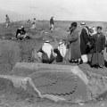Agatha Christie, fotografija Nimruda, Irak 1950.