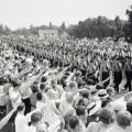 Nacističko okupljanje prije rata na Long Islandu.