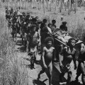 Papuanci pomažu saveznicima tijekom WWII.