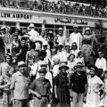 Turisti u zračnoj luci Jeruzalema 1940.