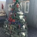 vojničko božićno drvce