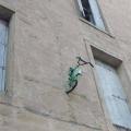 bicikla na zgradi