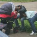 umorni roditelji nakon dočeka 2019.