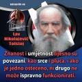Lav Nikolajevič Tolstoj znanost i umjetnost