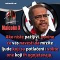 Malcolm x novine će vas natjerati na mržnju