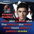 franz kafka politička stranka
