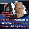 george bernard shaw inteligencija