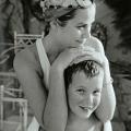 Grace Kelly sa sinom Albertom od Monaka