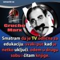 grucho marx televizija i edukacija