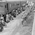 japanci u sabirnom logoru Santa Anita u Kaliforniji 1942.