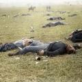 mrtvi sjevernjaci nakon bitke kod Gettisburga.